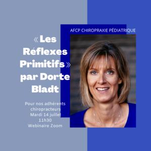 Webinar Dorte BLADT, Chiropracteur