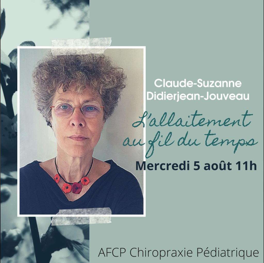 Entretien avec Claude-Suzanne Didierjean-Jouveau