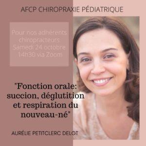 Webinar avec Aurélie Petitclerc-Delot sur la fonction orale