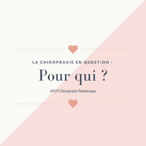 La Chiropraxie en question : Pour qui ?