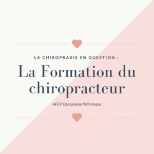 La Chiropraxie en question : Les études