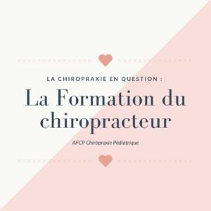 La Chiropraxie en question : Les études